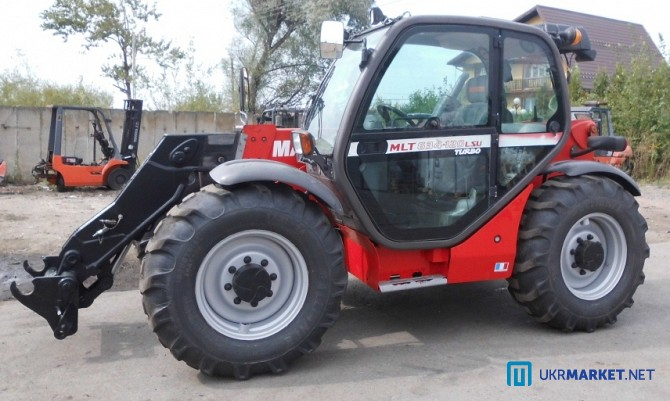 Погрузчик телескопический Manitou MLT 634-120 LSU Turbo, 2005 год вып Черкассы - изображение 2