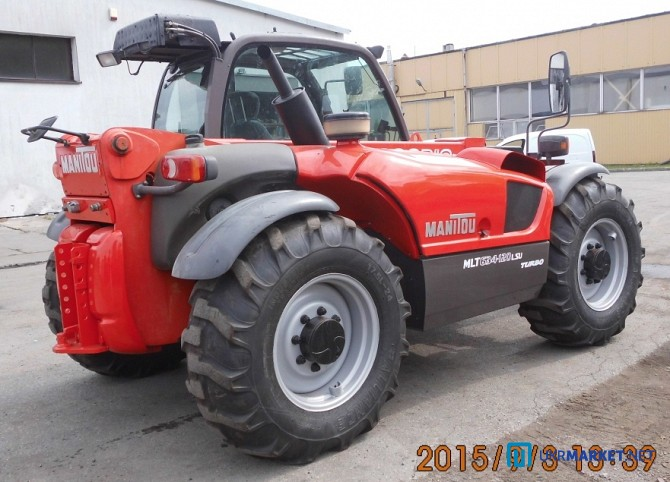Погрузчик телескопический Manitou MLT 634-120 LSU Turbo, 2005 год вып Черкассы - изображение 3