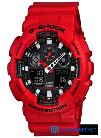 Часы Casio G-SHOCK GA-100 Все цвета Львов - изображение 4