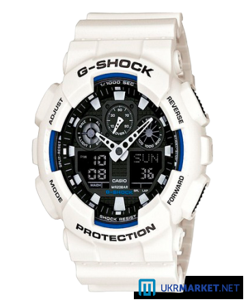 Часы Casio G-SHOCK GA-100 Все цвета Львов - изображение 2