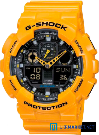 Часы Casio G-SHOCK GA-100 Все цвета Львов - изображение 5