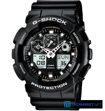 Часы Casio G-SHOCK GA-100 Все цвета Львов - изображение 6