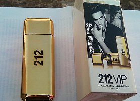 "Carolina Herrera ""212 VIP GOLD MEN"" 100 ml."
