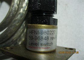 Hemomatik hfni-980227 level switch - датчик уровня.