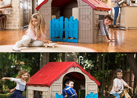 Игровой домик Wonderfold Playhouse Allibert, Keter Нидерланды