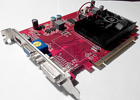 ATi Radeon HD4650 PowerColor/PCi-E/512МB GDDR2/128bit/DVI/VGA/HDMI