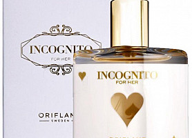 Туалетная вода Incognito for her (Oriflame)
