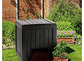 Компостер Deco Composter with Base 340 L Allibert, Keter