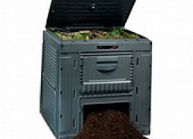 Компостер E-Composter with Base 470L Allibert, Keter
