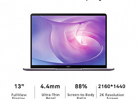 Продам новый Huawei MateBook 13-Inch Laptop - (Grey)