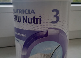 Nutricia PKU 2 Energy и PKU 3 Concentrated