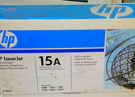 Hp (HewlettPackard) LaserJet Print Cartridge 15A (C7115A)