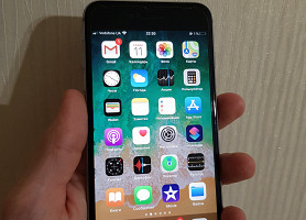Apple IPhone 6s Plus 64GB Space Grey (Neverlock) + чехол, коробка