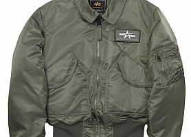 Куртка Пилот CWU 45/P Alpha Industries (Olive)