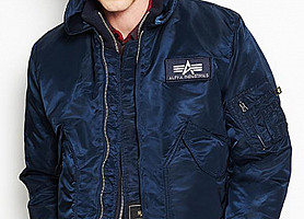 Куртка пилот CWU 45/P Alpha Industries (Blue)