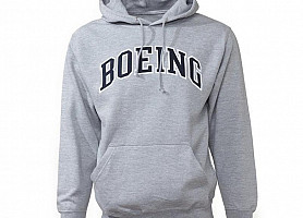Толстовка Varsity Pullover Hooded Sweatshirt (Gun Metal)