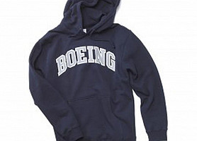 Толстовка Varsity Pullover Hooded Sweatshirt (Navy)