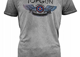 "Футболка Top Gun ""Wings Logo"" Tee (Grey)"