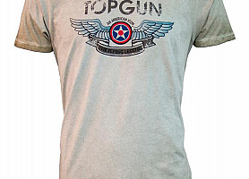 "Футболка Top Gun ""Wings Logo"" Tee (Olive)"
