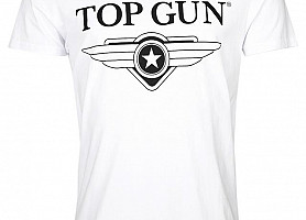 Футболка Top Gun Wing Logo Tee (White)