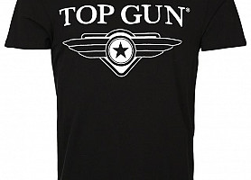 Футболка Top Gun Wing Logo Tee (Black)