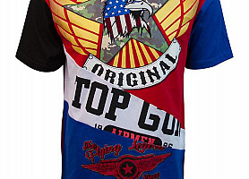 "Футболка Top Gun ""Flying Legend"" (Red)"