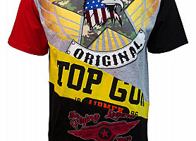 "Футболка Top Gun ""Flying Legend"" (Cream)"
