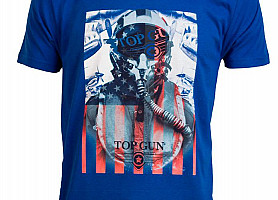 "Футболка Top Gun ""Fighter"" Tee (Blue)"