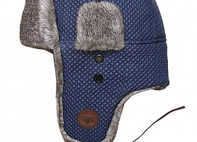 Шапка Top Gun Quilted Winter Hat (Blue)