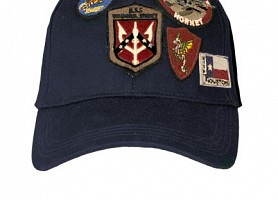 Оригинальная кепка Top Gun Cap With Patches (Navy)