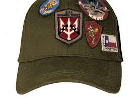 Кепка Top Gun Cap With Patches (Olive)