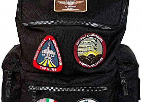 Рюкзак Top Gun Backpack With Patches (Black)