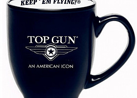 "Чашка Top Gun ""LOGO"" Coffee Mug (Black)"
