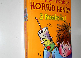 Книга Ужасный Генри A Triple Treat of Horrid Henry Francesca Simon