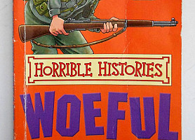 Книга Horrible Histories Woeful Second World War Ужасные истории